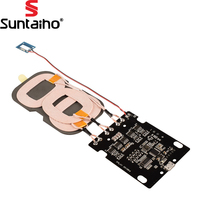 Suntaiho Wireless Charging Board 10W Fast Qi Standard Charging Universal DIY 3 Coils PCBA For Samsung