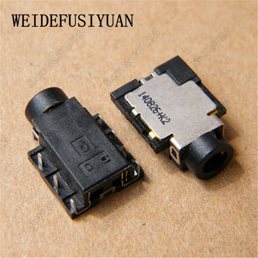 50 100PCS Audio Jack Plug Headphone MIC Port for Lenovo Asus Acer Dell 7 Pin Headphone