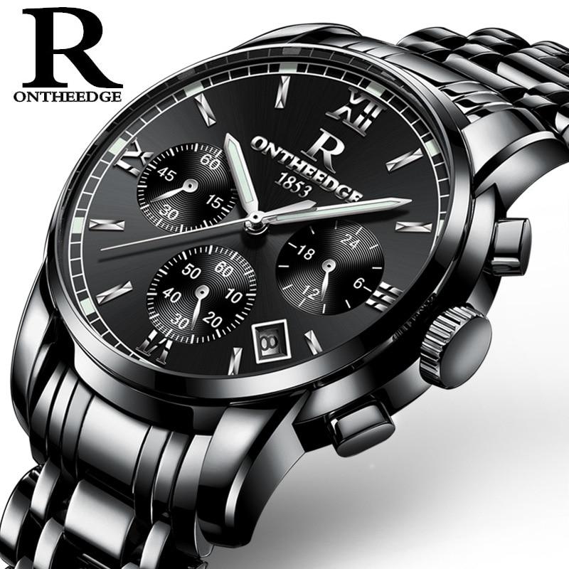 Fashion Classic Men Business Quartz Watch Luksus Multifunksjonelle - Herreklokker - Bilde 6