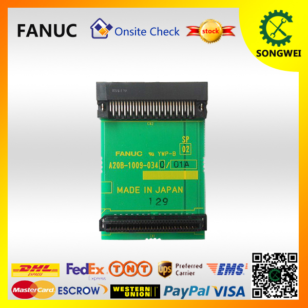 FANUC Adapter plate A20B-1009-0340 cnc control spare pcb fanuc pcb circuit a20b 3900 0170 for cnc spindle control daughter board