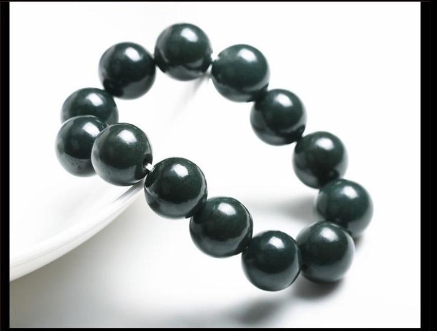 Jewelry & Accessories Hetian Yu Bracelet Natural True Drum Carving Yu Bracelet/1 Elegant Appearance