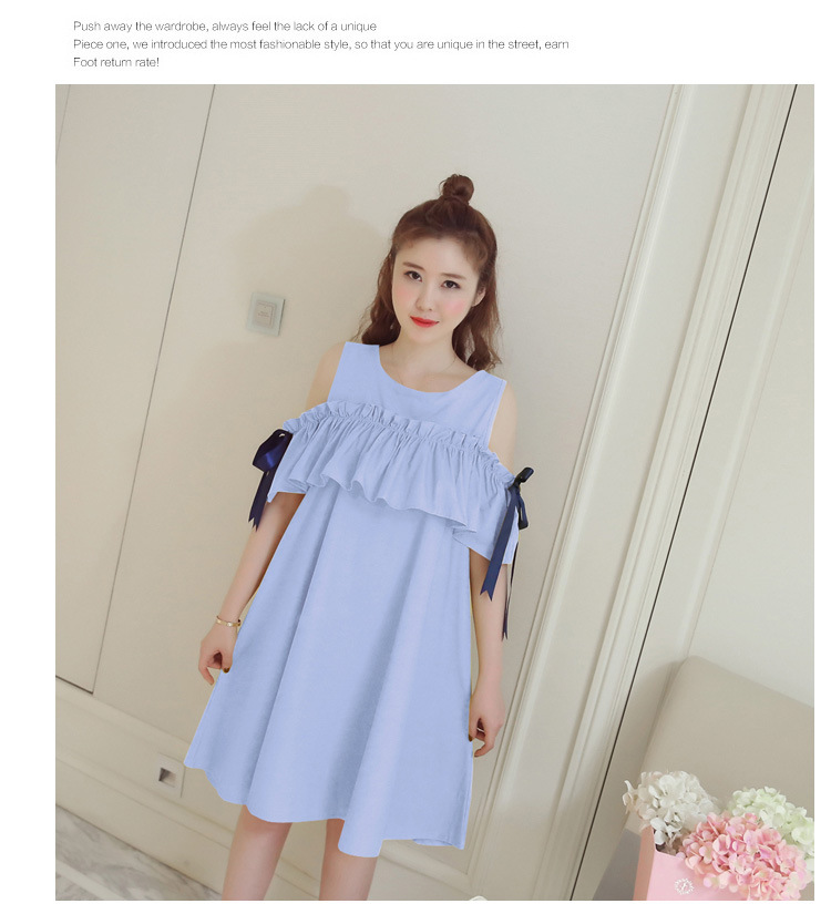 cdd14a873e252 Aliexpress.com : Buy Nursing Dress Loose Spring Summer Maternity ...