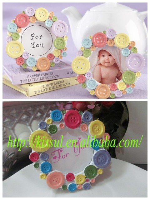 9eecbcd3aae3 15 Pcs Lot) Adorable Baby shower favors of Cute as a Button Round ...