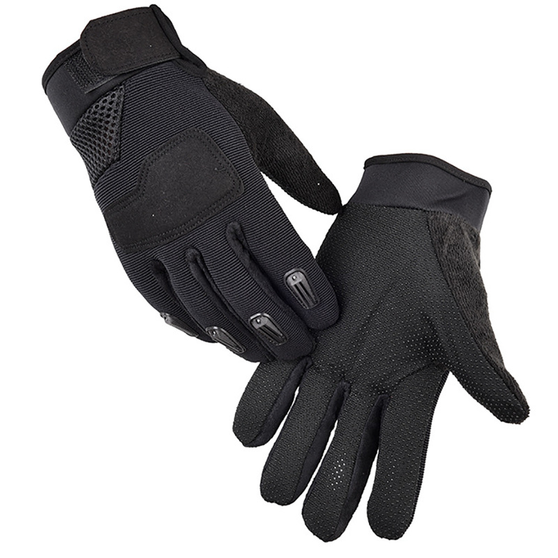 2pcs Outdoor Camping Hunting Military Tactical Gloves Sports Training Gloves Hiking Cycling Full Finger Gloves