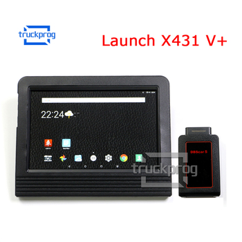 Launch X431 V+ auto Diagnostic Scanner 10.1 inch Pad Wifi Bluetooth OBD 2 Full System Car Diagnostic tool 2 years free Update