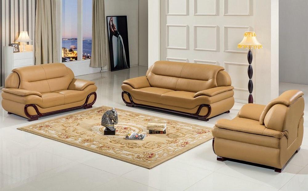 € 1173.89 |2019 pouf chaise Promotion Style européen ensemble pas de  canapés en cuir véritable pour salon fauteuil pouf moderne canapé Design-in  ...