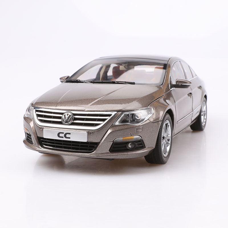 1:18 Volkswagen CC Models Simulation Gold Alloy Model Car Automotive for Gifts gifts 1 32 ros fiatagri g240 tractor models alloy car models favorites model