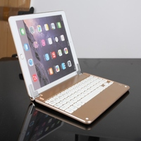 Aluminum Wireless Bluetooth Smart Keyboard For IPad Air 2 New Tablet 9 7inch Cover Case Fashion
