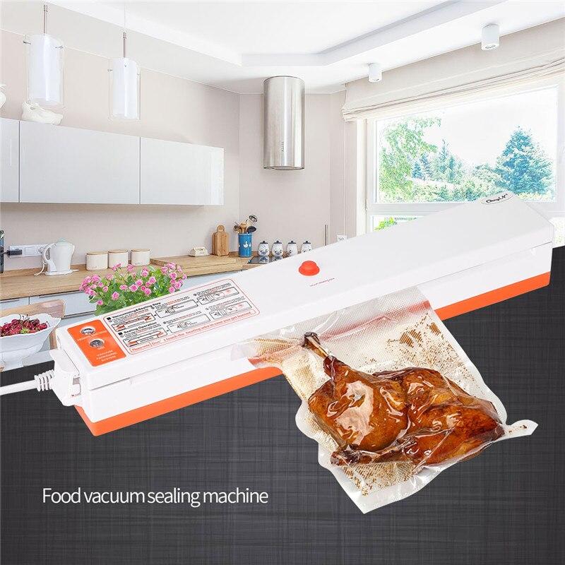 Kitchen Food Vacuum Sealing Machine Automatic Vacuum Sealer Professional Food Preservation System Home Vacuum Sealer Food Saver стоимость