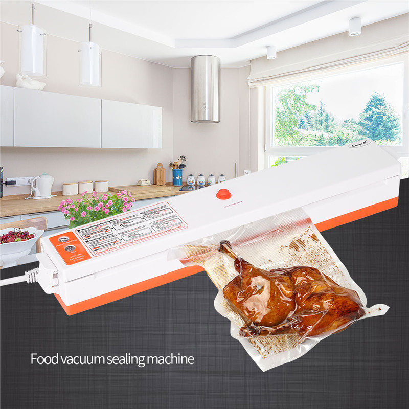 Kitchen Food Vacuum Sealing Machine Automatic Vacuum Sealer Professional Food Preservation System Home Vacuum Sealer Food Saver