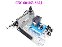 Russian tax free CNC 6040 Z S 65J 800W engraving machine lathe router with tool bits