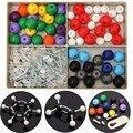 240 pcs kit atom modelos moleculares conjunto geral & química orgânica científico crianças aprendizagem educacional toy set
