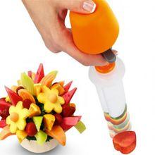 1Set Fruit Salad Carving Vegetable Fruit Arrangements Smoothie Cake Tools Kitchen Dining Bar Cooking Accessories