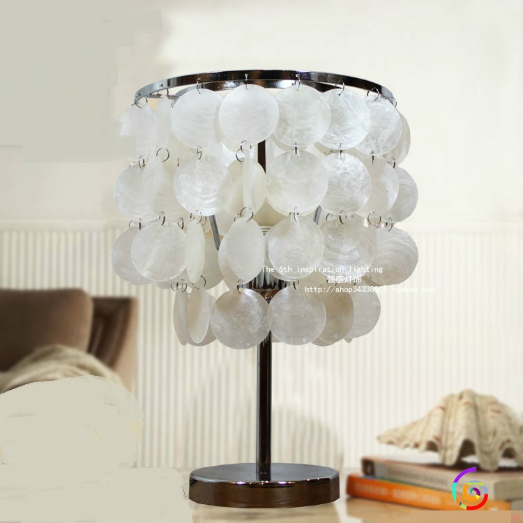 Творческий снаряды, настольные лампы персонализированные гостиная ночники магазин одежды украшения домашнего освещения настольные лампы ...