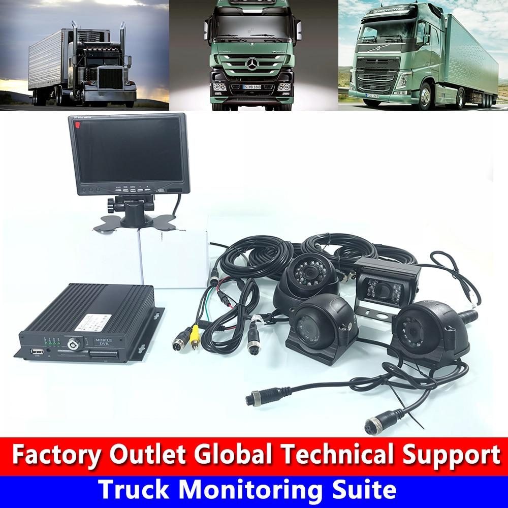Fabricants de véritable vente directe en gros carte SD 720 P HD système hôte camion surveillance taxi/bus/véhicule tout-terrain
