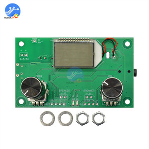Image 2 - FM Radio Empfänger Modul 87 108MHz Frequenz Modulation Stereo Erhalt Board Mit LCD Digital Display 3 5V DSP PLL