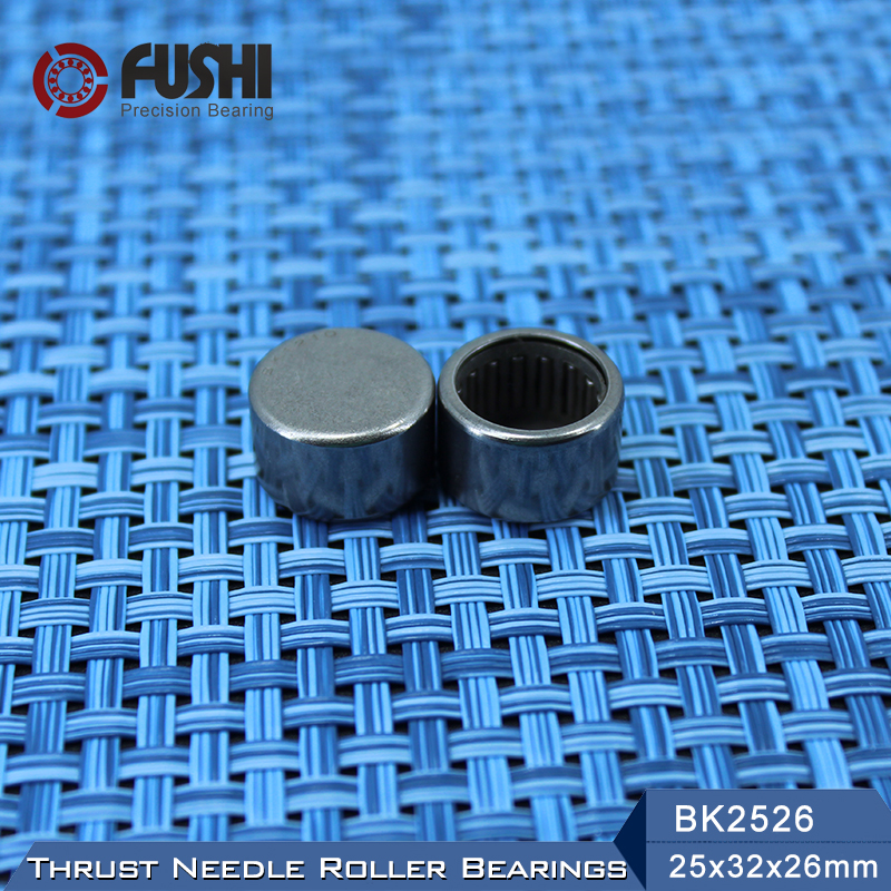 BK2526 Needle Bearings 25*32*26 mm ( 1 Pc ) Drawn Cup Needle Roller Bearing  BK253226 Caged Closed ONE End na4910 heavy duty needle roller bearing entity needle bearing with inner ring 4524910 size 50 72 22