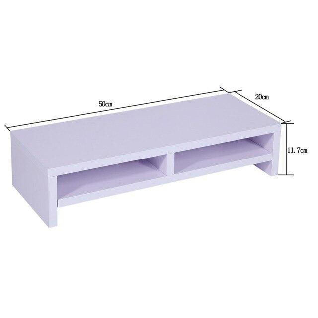 2-Tier Desktop Monitor Stand Shelf  5
