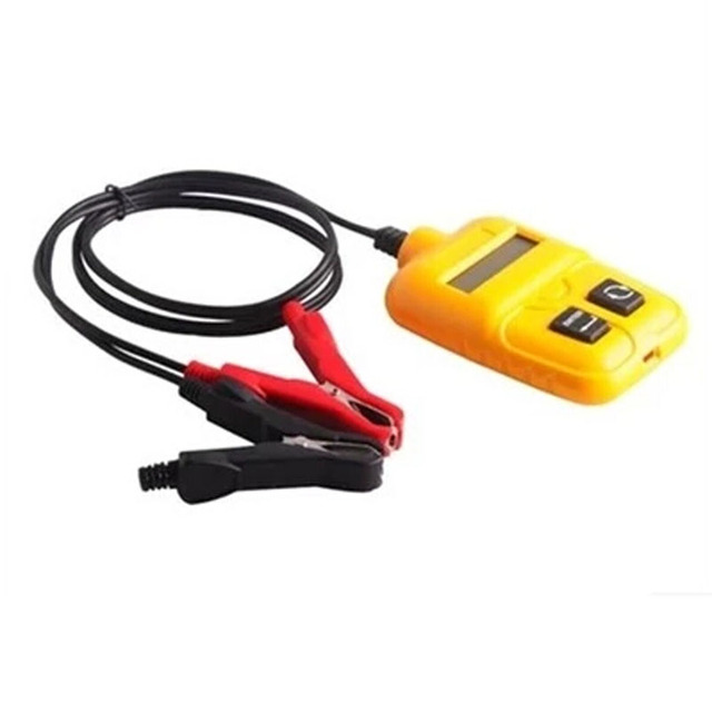New Arrival Free Shipping 12V Automotive Auto Car Battery Analyzer Tester Yellow