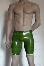 Nature Rubber 0 4MM font b Underwear b font Tight Boxer Pants Colorful Slinky Latex Club