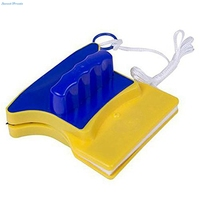 Sweettreats Magnetic Window Double Side Wiper Cleaner Pad Scraper Home Cleaning Brush Window Glass Cleaner