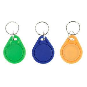 Image 4 - 100 adet RFID anahtar fobs 13.56 MHz anahtarlıklar NFC etiketleri ISO14443A MF Klasik® 1 k nfc erişim kontrolü jetonu akıllı anahtar kart altı renk