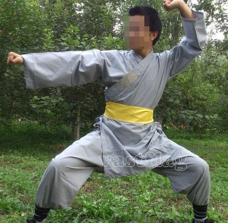 Shaolin monk suits wing chun kung fu martial arts uniforms clothes clothing set