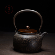 Новое поступление чугун Чай горшок Японский Tetsubin чайник Чай горшок Посуда для напитков Инструменты 1300 мл кунг-фу infusers