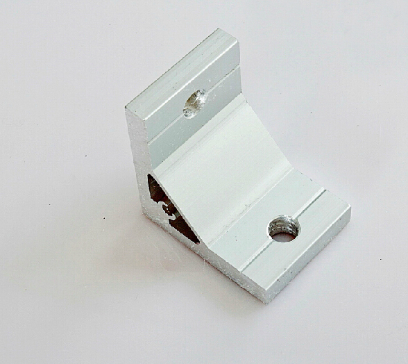 90 Degree Inside Corner Bracket Aluminium Extrusion Support Connector For Aluminum Profile 5050