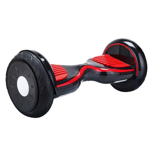 10 polegadas 2 Rodas Equilíbrio Inteligente Scooter Elétrico Hoverboard  Skate Motorizado Pé Hover Bordo de Skate cae5eda57b4