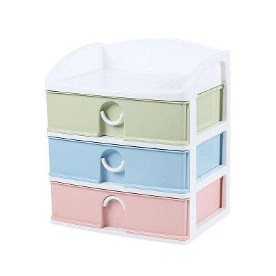 Kunststoff Schublade Schranke Schreibtisch Aufbewahrungsbox A4