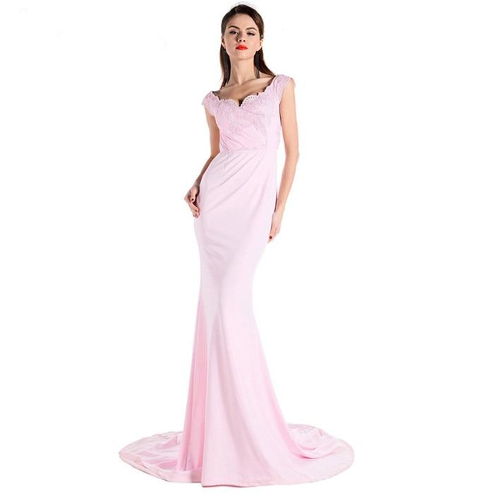 567ce3f4527 Dentelle black Robe De Sexy D été Rose Pink Qualité Celebrity Noir Fête  Femme Top Pour Slash Femmes Longue Cou Élégant Party l1TFcu5KJ3
