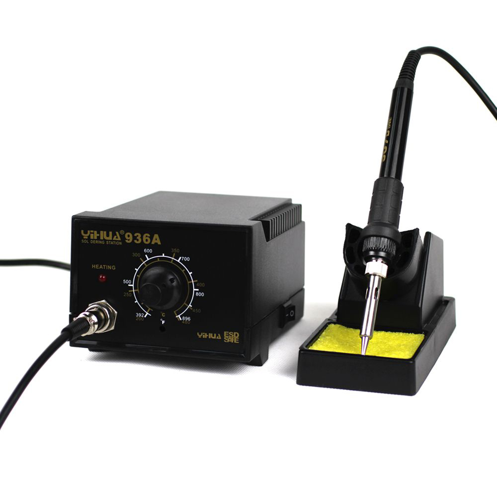 SMD ESD soldering station ORIGINAL QUICK 936A 60W / lead free high quality with free tip  цены