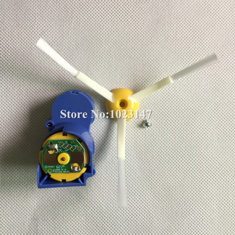 1x Upgraded Motor + 1x Robot Side Brush for irobot Roomba 560 570 650 780 880 series Vacuum Cleaner Parts bristle brush flexible beater brush fit for irobot roomba 500 600 700 series 550 650 660 760 770 780 790 vacuum cleaner parts