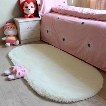 Tapete Alfombras ovaladas de buena calidad para dormitorio tapete Alfombras para sala...