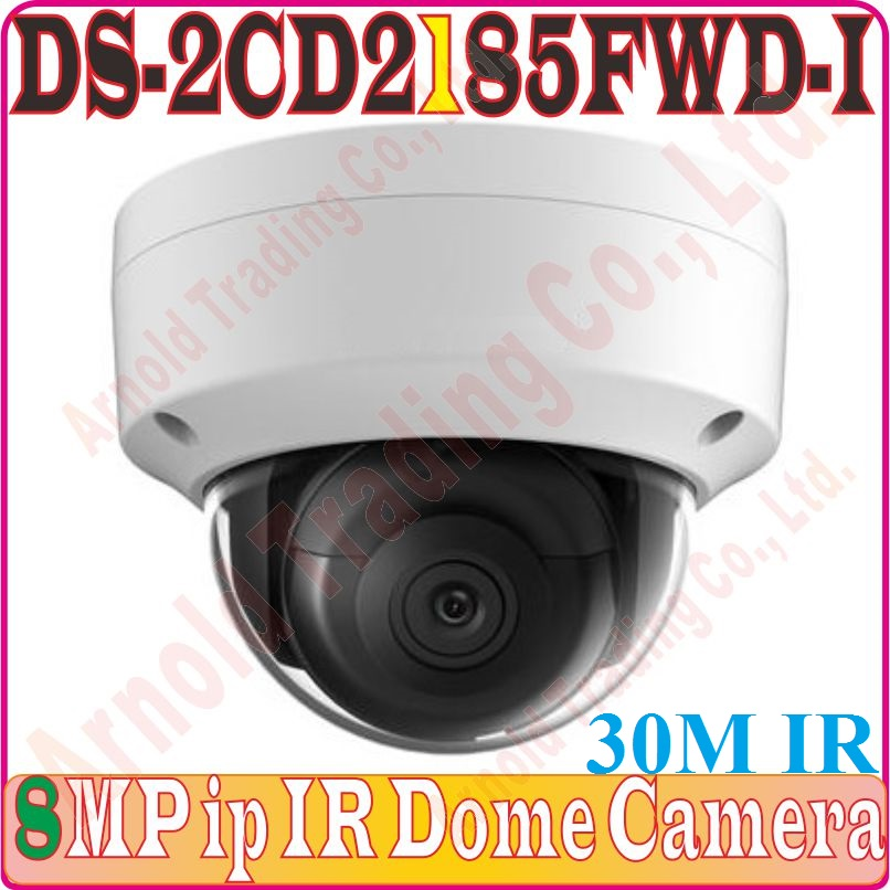 Conscientious Without Alarm/audio Eng-verison Ds-2cd2185fwd-i H.265 8mp Ip Web Dome Poe Camera Network Dome Camera 120db Wide Dynamic Range