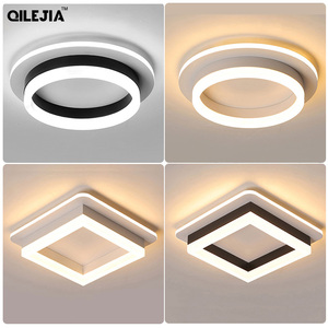 Image 1 - Modern chandelier lighting bedroom study restaurant balcony home decoration Lamparas remote control Dimming chandelier