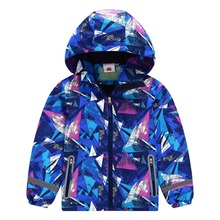 Warm Child Coat Printing Baby Boys Jackets Waterproof Children Outerwear Thicken Polar Fleece Autumn Winter For 3-12 Years Old цены