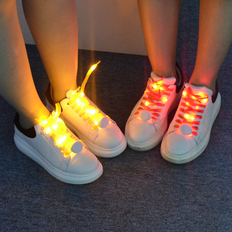 2017 NEW 2M 20 led shoelaces light  for christmas festival home party decoration color fashion