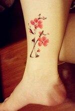 10 Pieces In 500 Types Waterproof Temporary Fake Flash Tattoo Tatoo Henna Stickers Taty Tatto A Plum Blossom SYA010-10PC