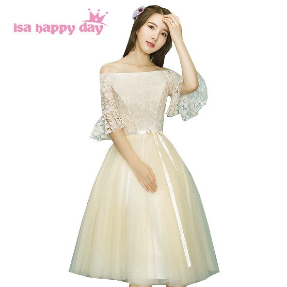 tulle short elegant gowns for ladies evening dress sexy tea length 2019 new  arrival woman dresses 68d188c5f0e6