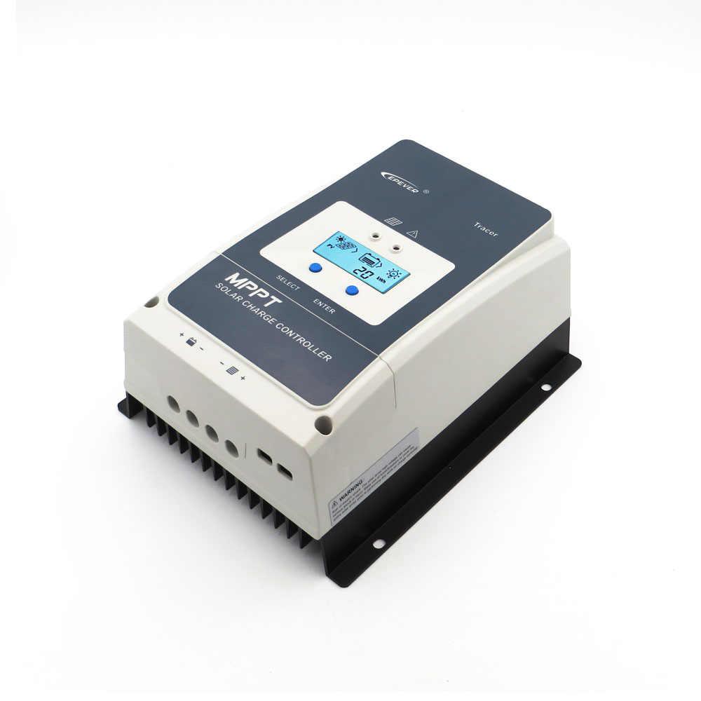Regulador de carga Solar 10/20/30/40/50/60/80/100A MPPT RV cargador de batería regulador de Panel de células solares