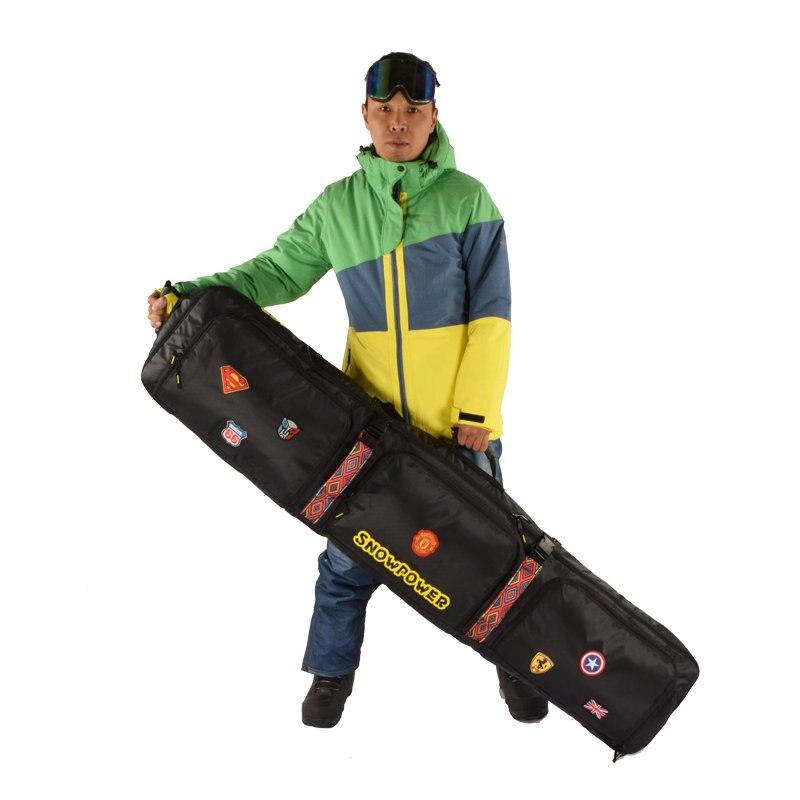 2019 nouveau sac de Ski 146 cm 156 cm 166 cm 180 cm sac de Snowboard homme femmes Sports de plein air sac à dos sac à bandoulière unique sac de Ski