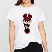 FIXSYS Women Fashion T Shirt Caual Summer Tops Tee Harajuku Graphic Tees Cartoon T-shirts Kawaii White
