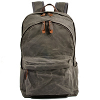 New amasie England backpack book bag causal daily bag pack cotton canvas men backpack GET0009