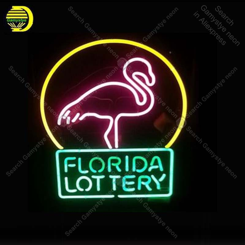 Neon Signs Florida Lottery Flamingo Decorate room Wall Advertising Sign Neon Bar Sign Neon lamps Personalized Night Art lampsNeon Signs Florida Lottery Flamingo Decorate room Wall Advertising Sign Neon Bar Sign Neon lamps Personalized Night Art lamps
