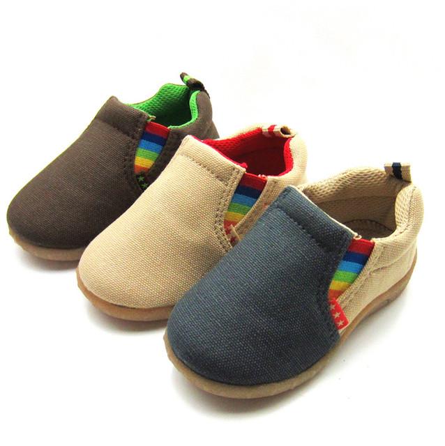 2016 primavera e no outono suave baby first walkers sapatos da criança moda função elástico sapatos de algodão da criança