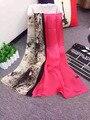 102443 22 Цвета 180x70 см 2017 женская Мода Шелковые Платки Шарф, мода Шарф, женская Шелковый шарф, прямоугольник Шарф