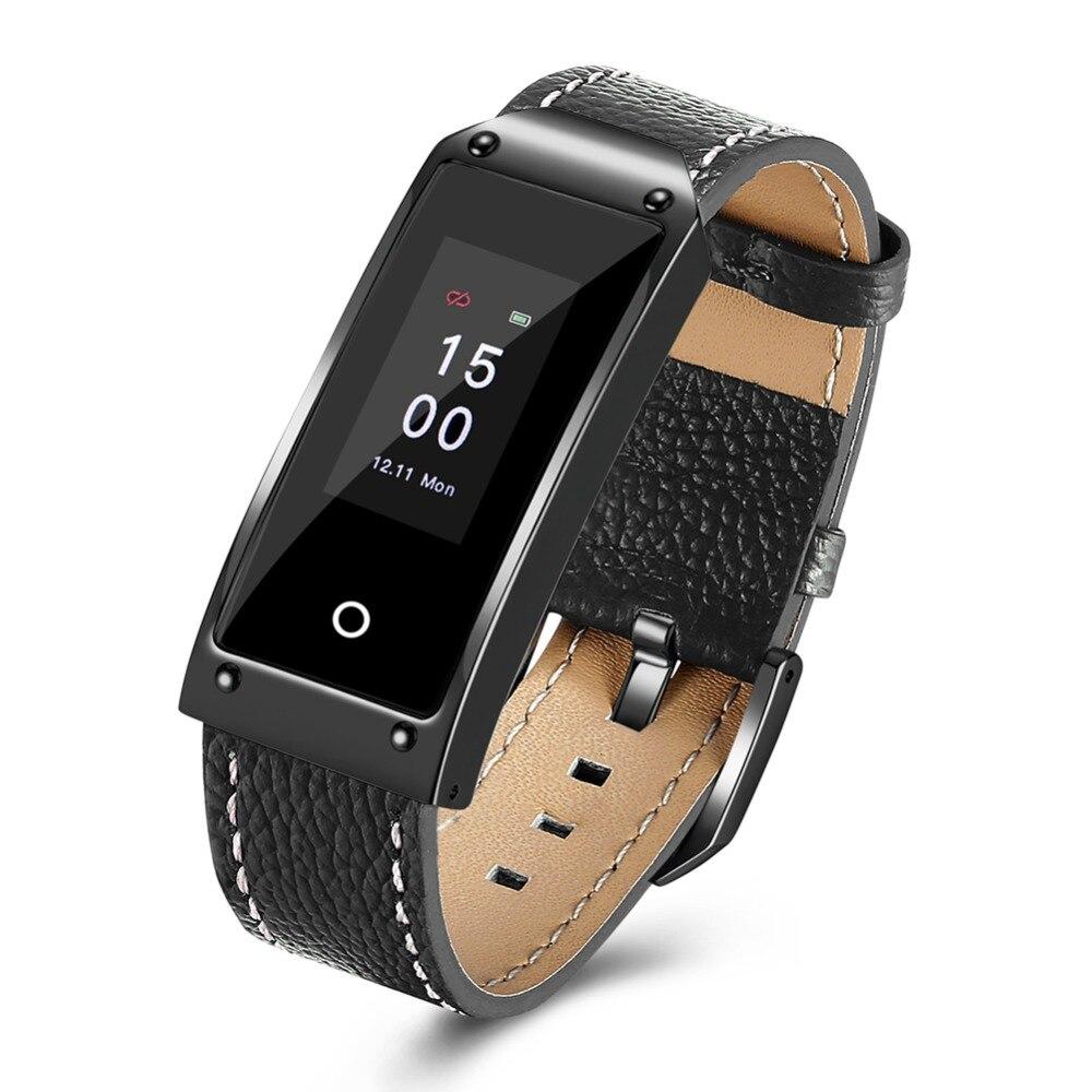 HAIOM Y2 Bluetooth Фитнес трекер Смарт часы монитор сердечного ритма крови Давление умный Браслет для IOS Android