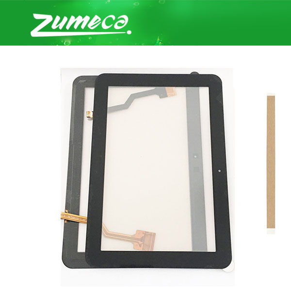 8.9'' For <font><b>Samsung</b></font> Galaxy Tab 8.9 P7320 P7310 <font><b>P7300</b></font> Touch <font><b>Screen</b></font> Digitizer Touch Panel Lens Glass Black White Color With Tape image